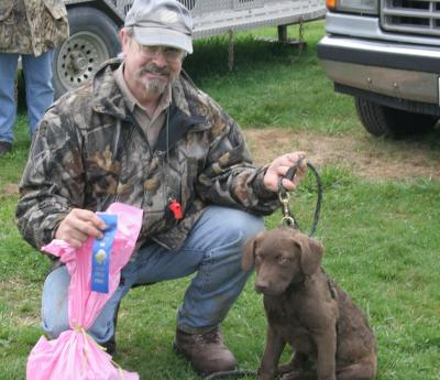 RRRC/Hope Springs Rufsail Puppy Futurity winners - Chesapeake Bay Retriever Hunting Dog Pictures