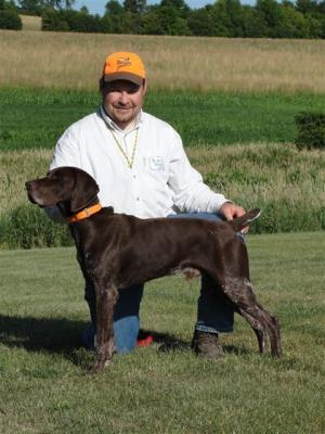 2-TIME NAVHDA UTILITY PRIZE I GSP! - German Shorthaired Pointer Hunting Dog Pictures