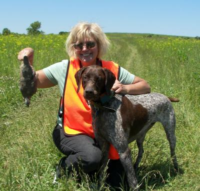 Aiden's first - German Shorthaired Pointer Hunting Dog Pictures