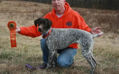 Azkabans Its All About Actin - German Shorthaired Pointer Hunting Dog Pictures