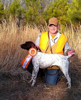 Sasha\'s AKC Junior Hunter Title - German Shorthaired Pointer Hunting Dog Pictures