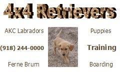 4x4 Retrievers/Crook Kennels